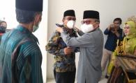 Tari Paddupa Binaan Disporapar dan Duta Wisata Parepare Sambut Tamu Pelantikan ICMI Orda Parepare